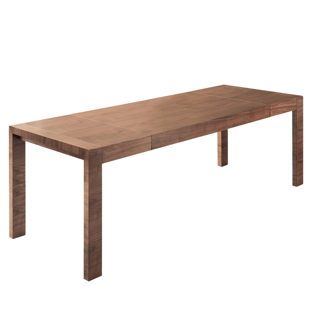 double extending dining table walnut dwell : 1000 102312 from dwell.co.uk size 1000 x 1000 jpeg 256kB