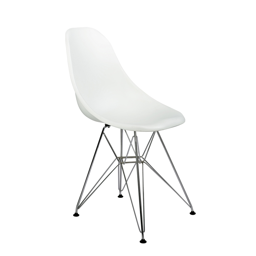 eiffel dining chair with metal legs white dwell : 1000 104297 from dwell.co.uk size 1000 x 1000 jpeg 126kB