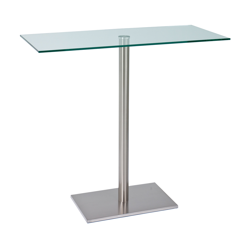 Sicily Bar Table Clear Dwell
