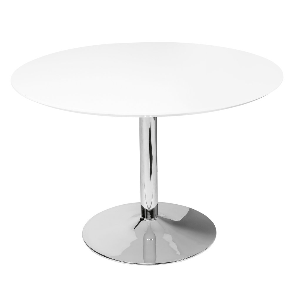palermo gloss dining table large white loading zoom
