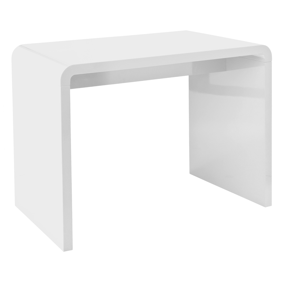 hudson compact desk white - dwell