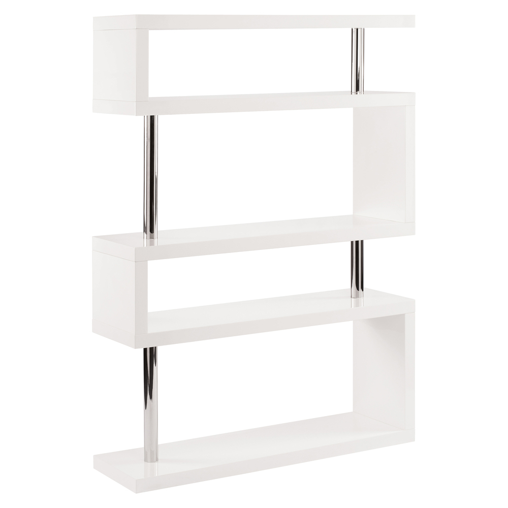Contour Wide Shelving White Dwell