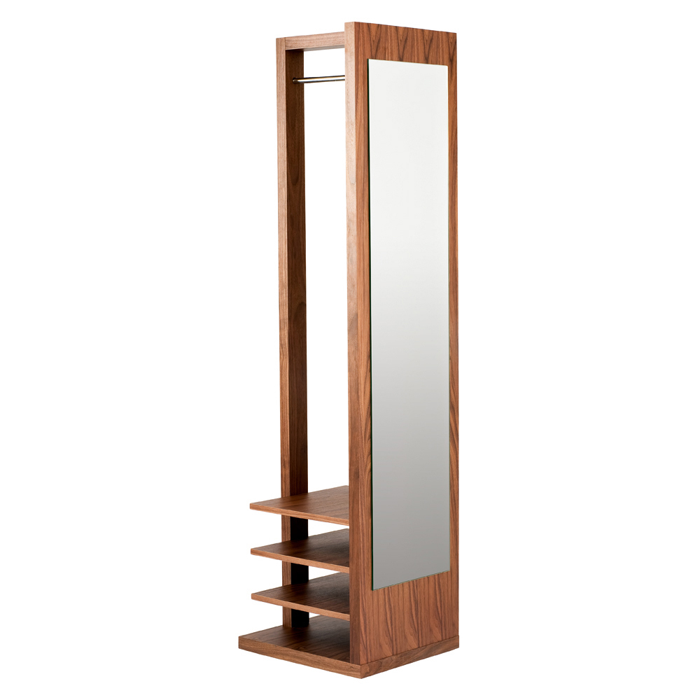 Freestanding Coat Stand And Mirror Dwell