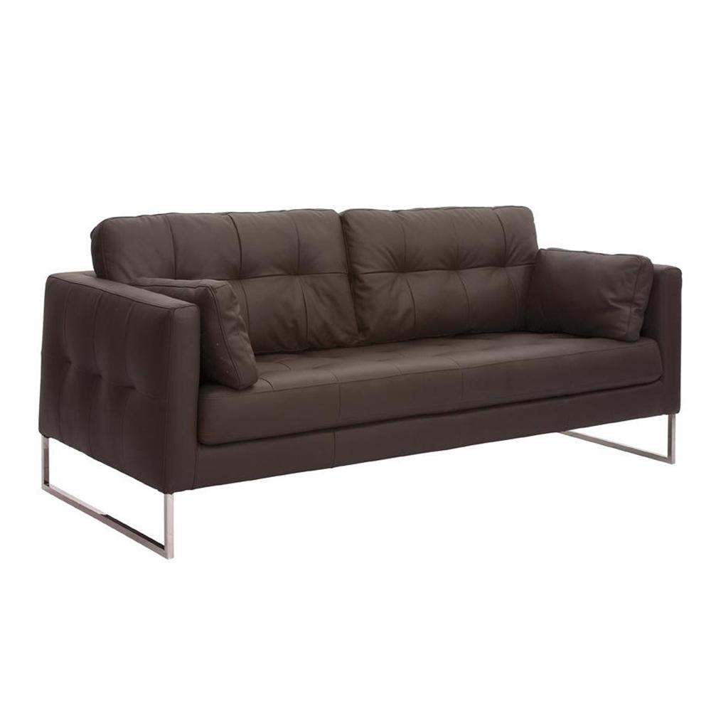 Brown Leather Sofa Dwell