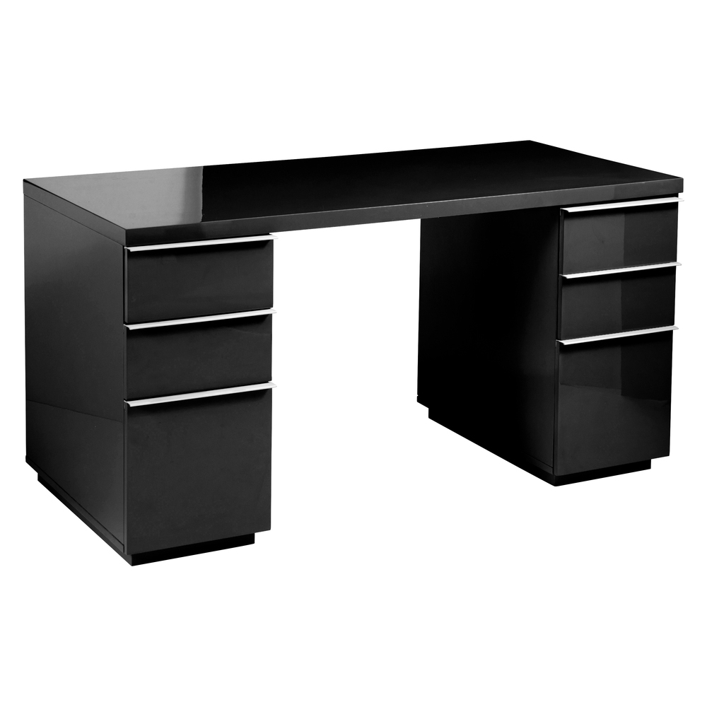 Madison Office Desk Black Dwell