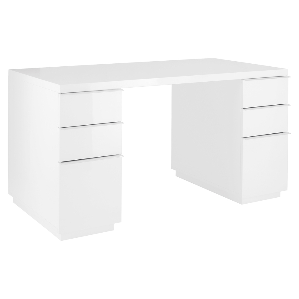 Madison Office Desk White Dwell