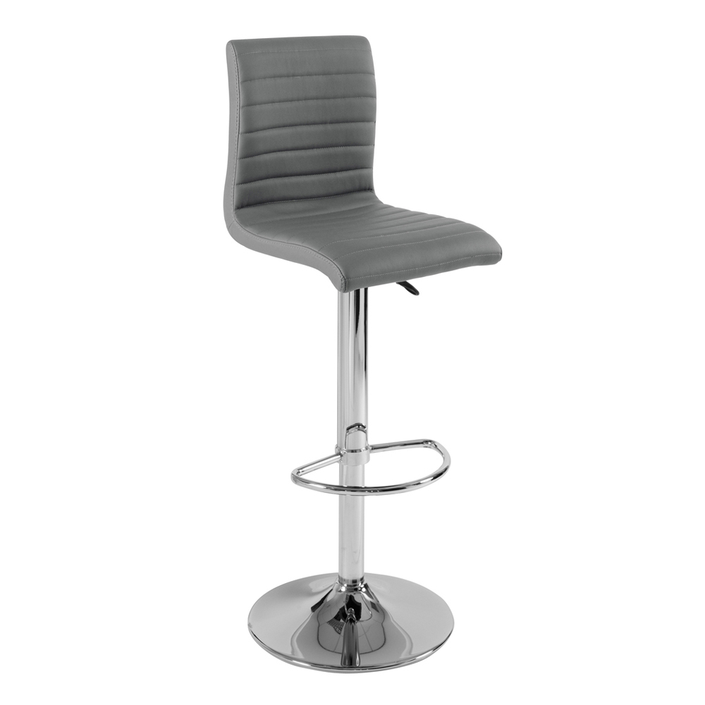 ripple bar stool grey - dwell