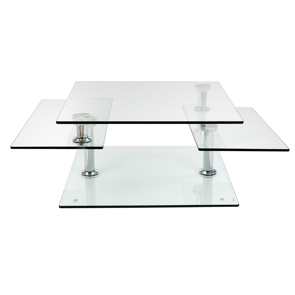 Round Extendable Glass Dining Table American HWY : 1000 109865 from www.americanhwy.us size 1000 x 1000 jpeg 1086kB