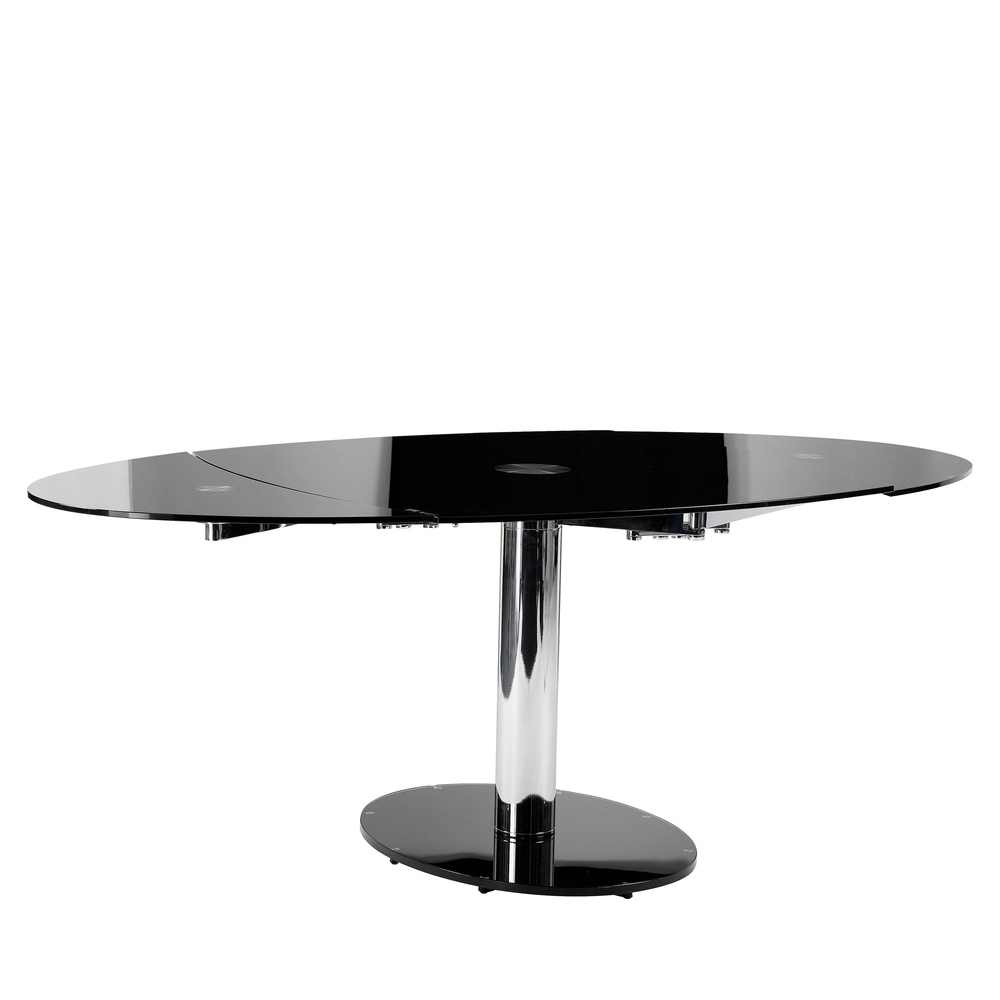 luca glass extending dining table black dwell : 1000 109870 from dwell.co.uk size 1000 x 1000 jpeg 113kB