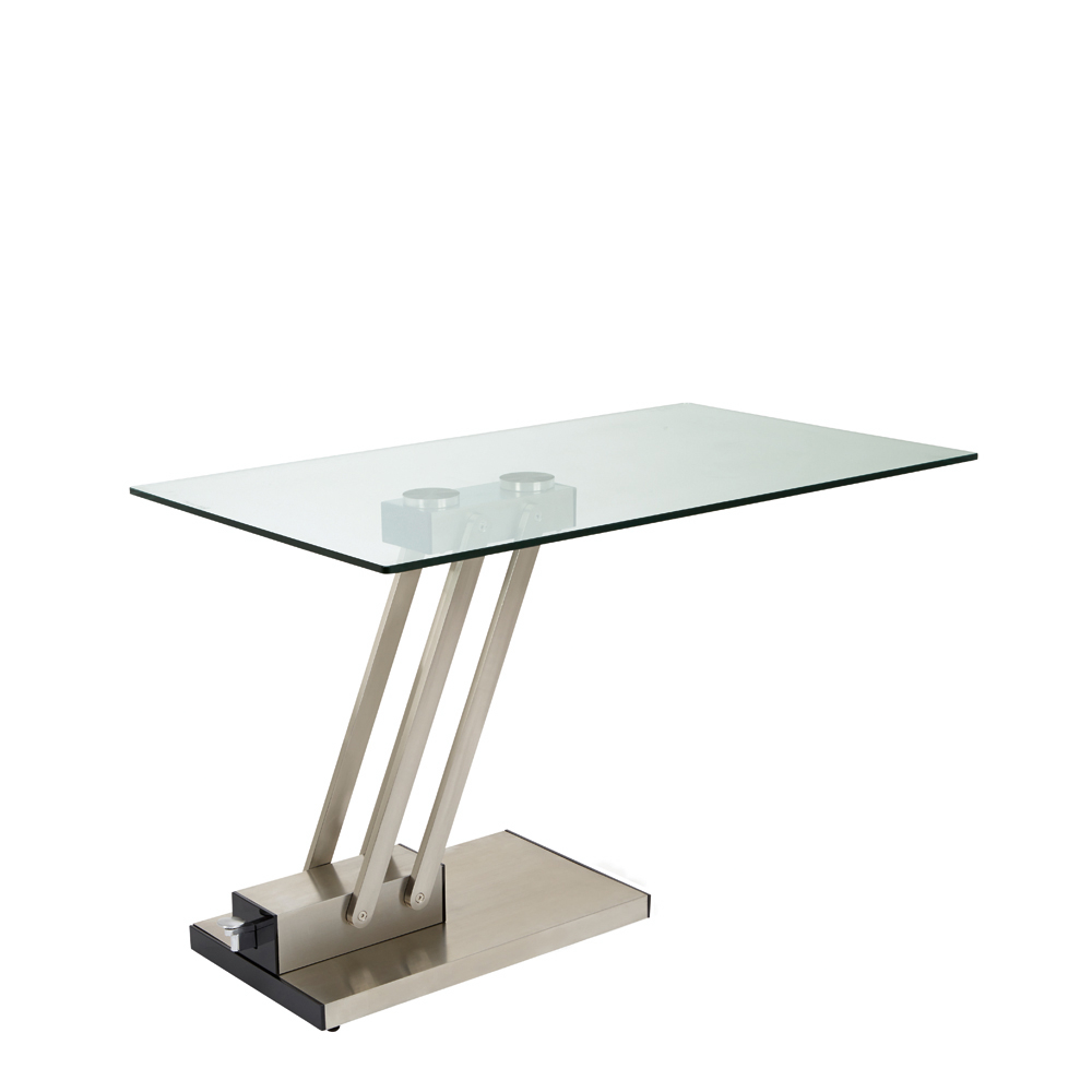 Elevate Glass Coffee Table Clear Dwell