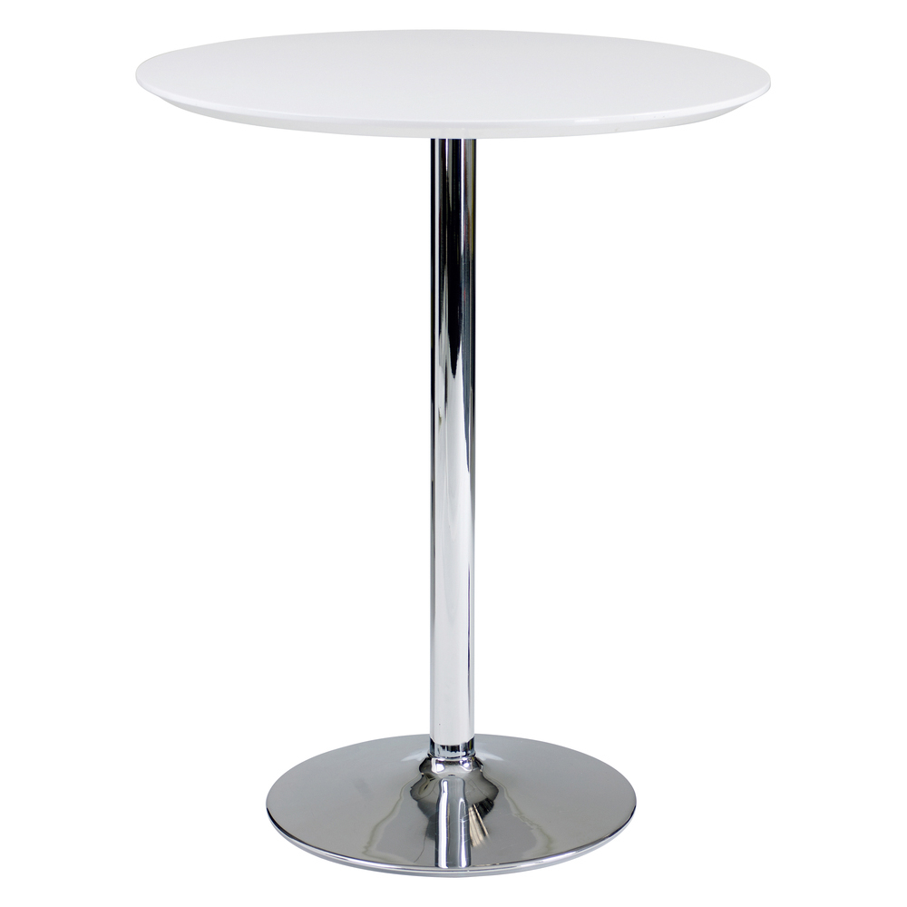 Round White Table For Kitchen