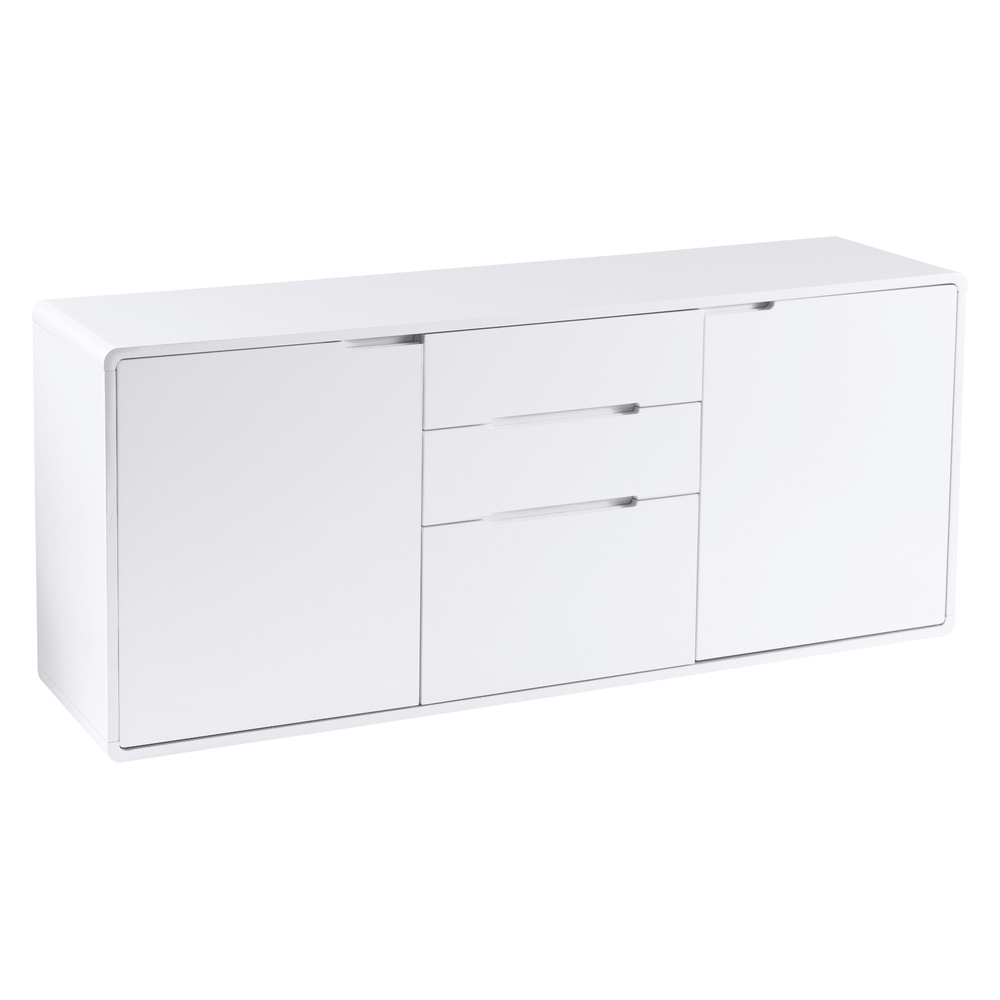 Basel Two Door Sideboard White Dwell