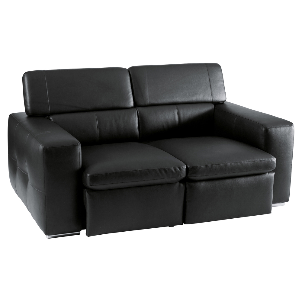 Black Reclining Leather Sofa Global Furniture Usa 9966 Reclining Black Leather Sofa Coaster