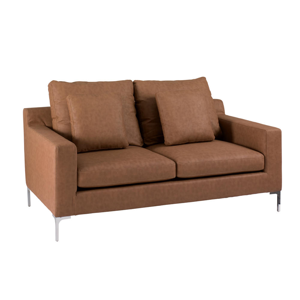 Oslo Two Seater Sofa Terracotta Dwell