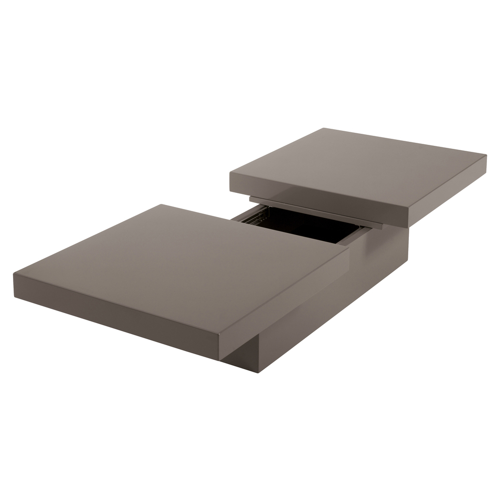Two block storage coffee table stone two block storage coffee table - Two Block Storage Coffee Table Stone Loading Zoom