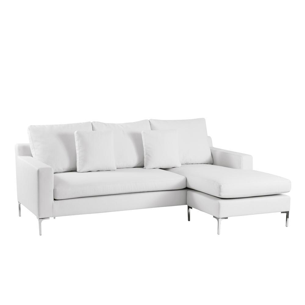 Oslo reversible corner sofa white dwell Small white loveseat