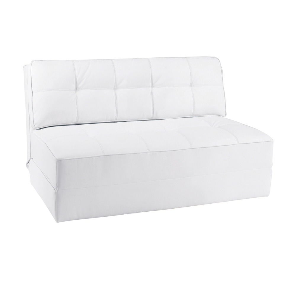 petra faux leather sofa bed white dwell : 1000 112929 from dwell.co.uk size 1000 x 1000 jpeg 223kB