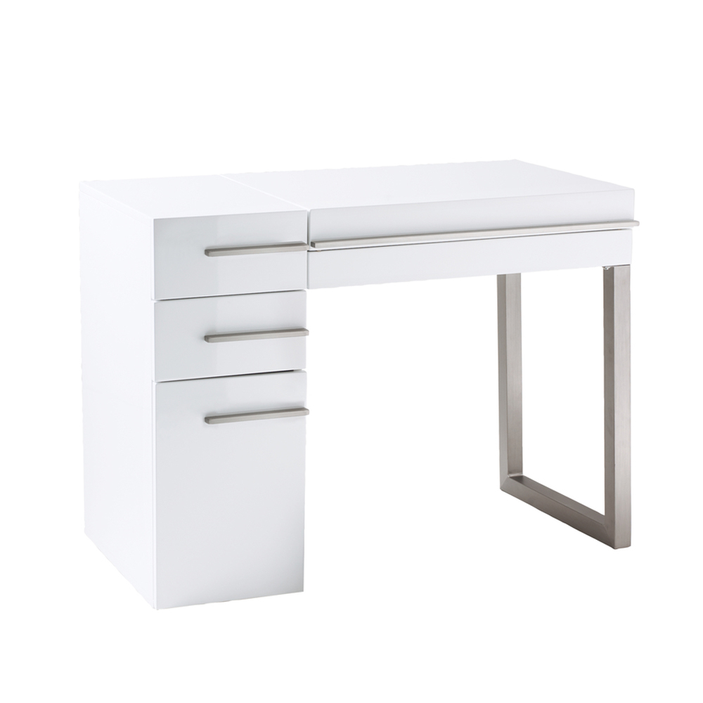 carter dressing table white - dwell