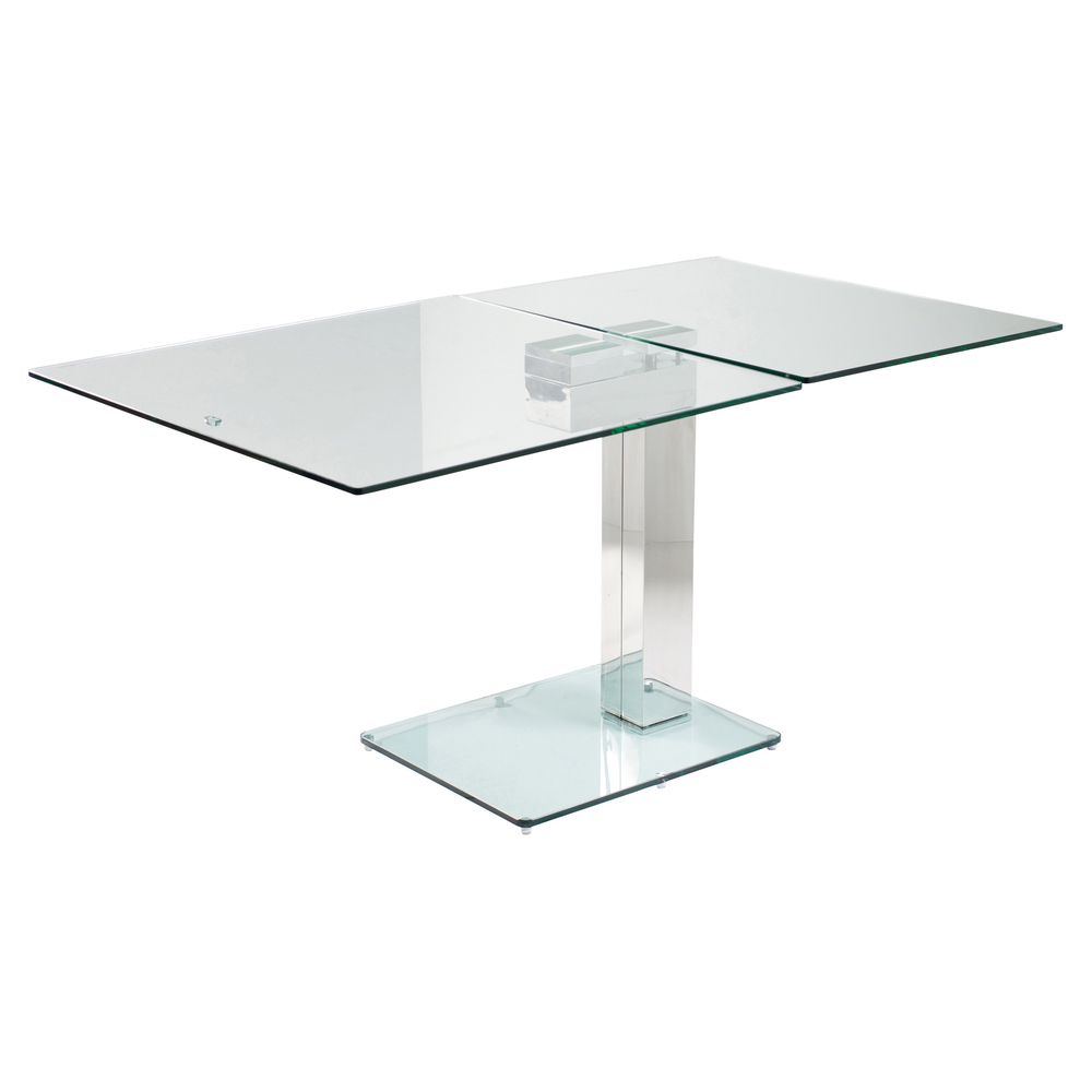enzo square extending dining table clear dwell : 1000 114056 from dwell.co.uk size 1000 x 1000 jpeg 131kB