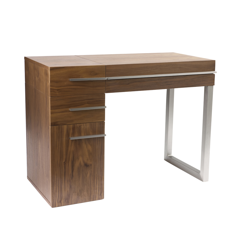 Carter Dressing Table Walnut Dwell