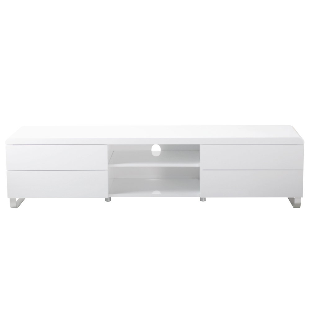 Load TV unit with drawers white