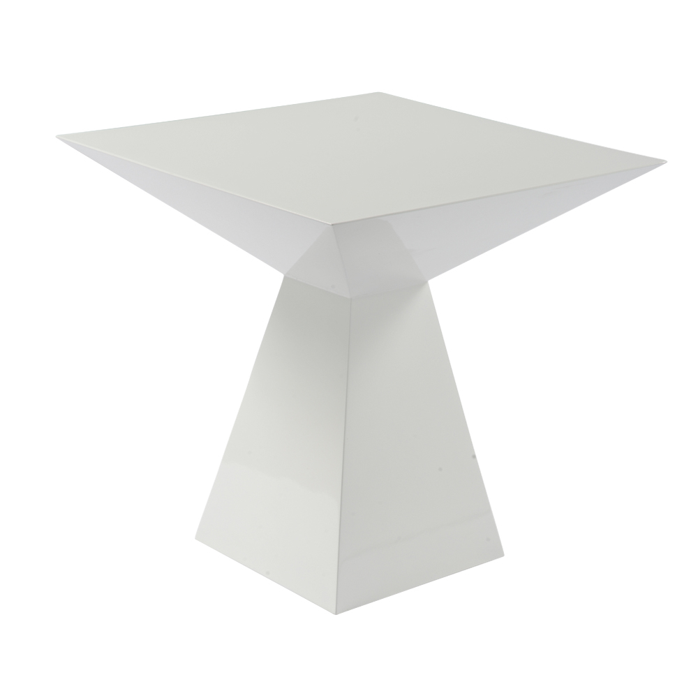 Angles Side Table White. Loading Zoom