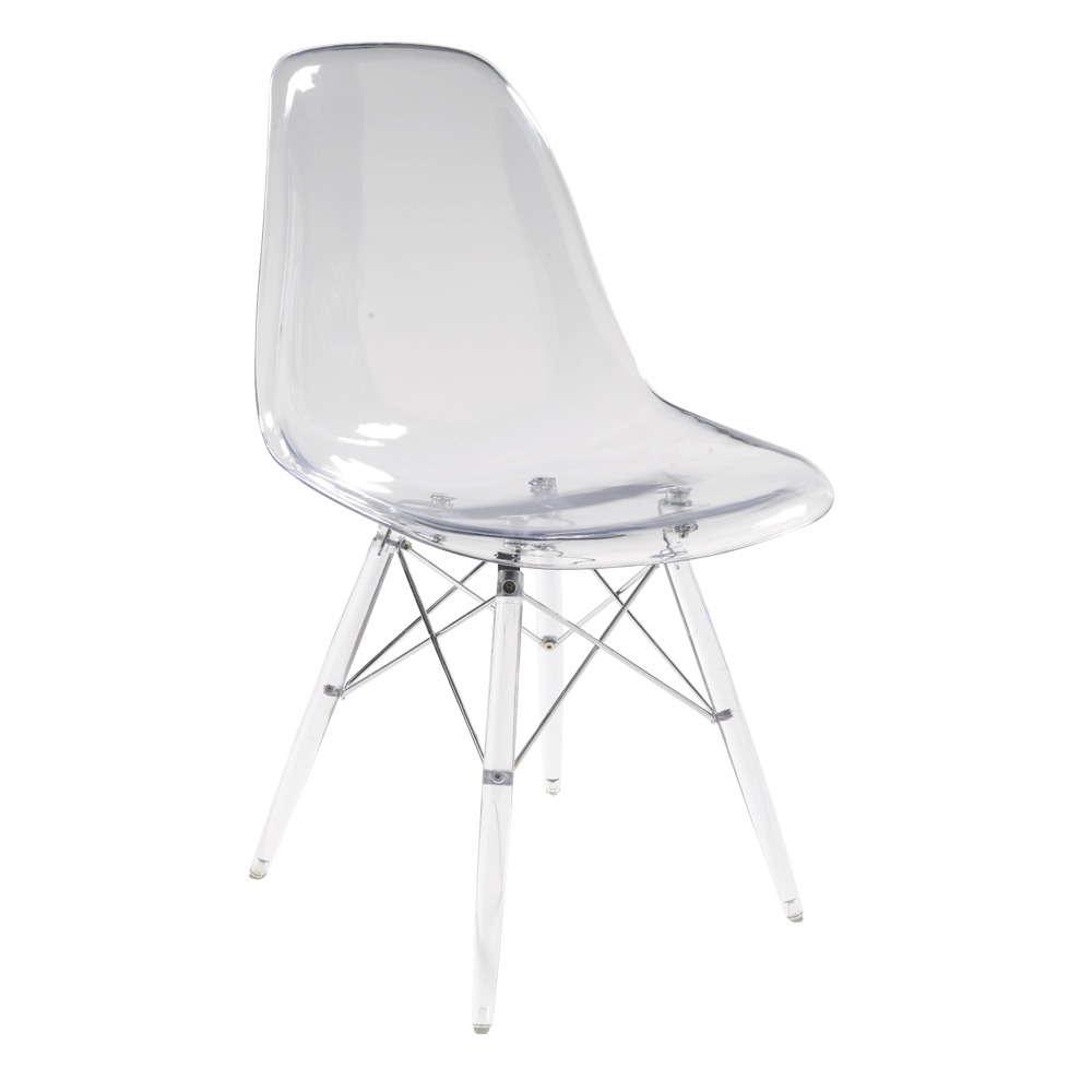 Eiffel Dining Chair Clear. Loading Zoom