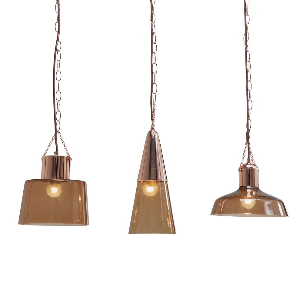 Cappa Triple Pendant Light