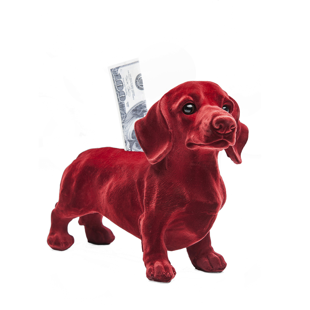 Sausage Dog Money Box Dwell