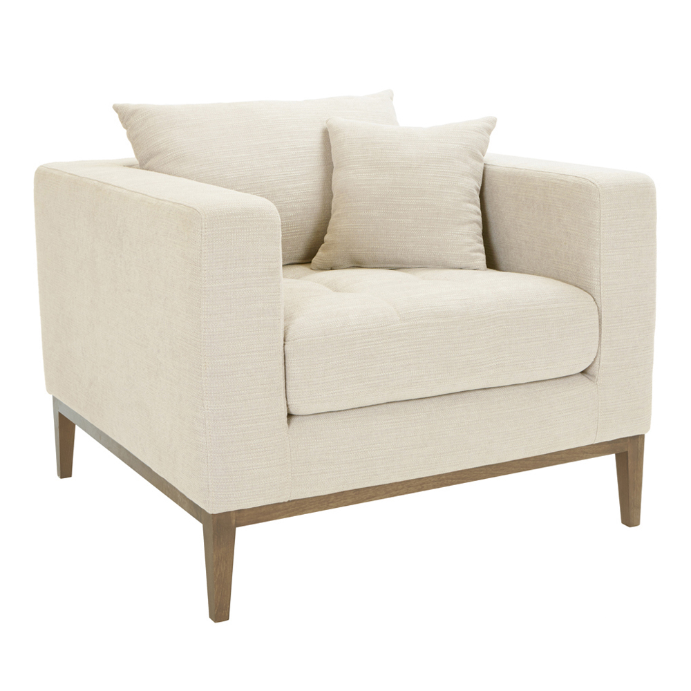 limoges armchair ivory - dwell