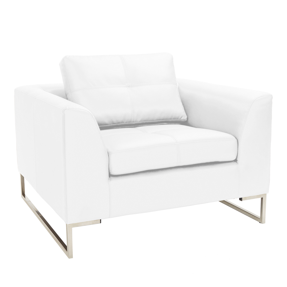 white leather armchair vienna leather armchair white dwell 21970 | 1000 139088