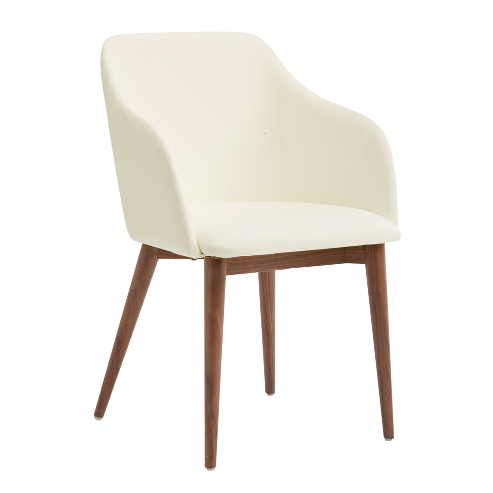Dip Dining Chair Cream Dwell