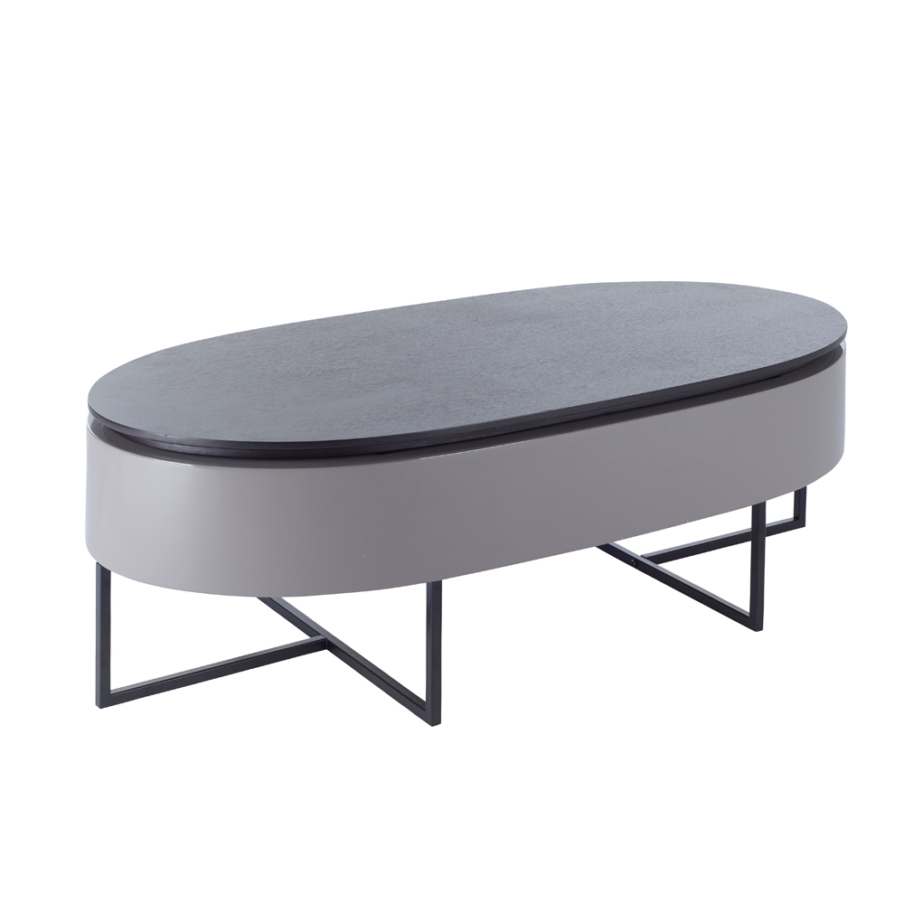 Pod Lift Up Coffee Table Darkwood Dwell