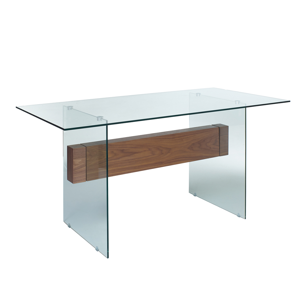 Treble glass dining table dwell for At the table or on the table