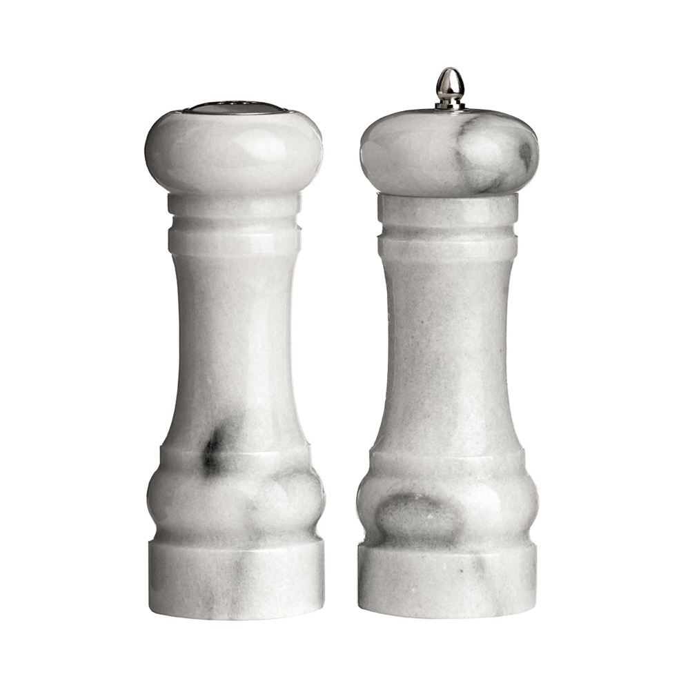 Marble Salt And Pepper Mill Set Dwell