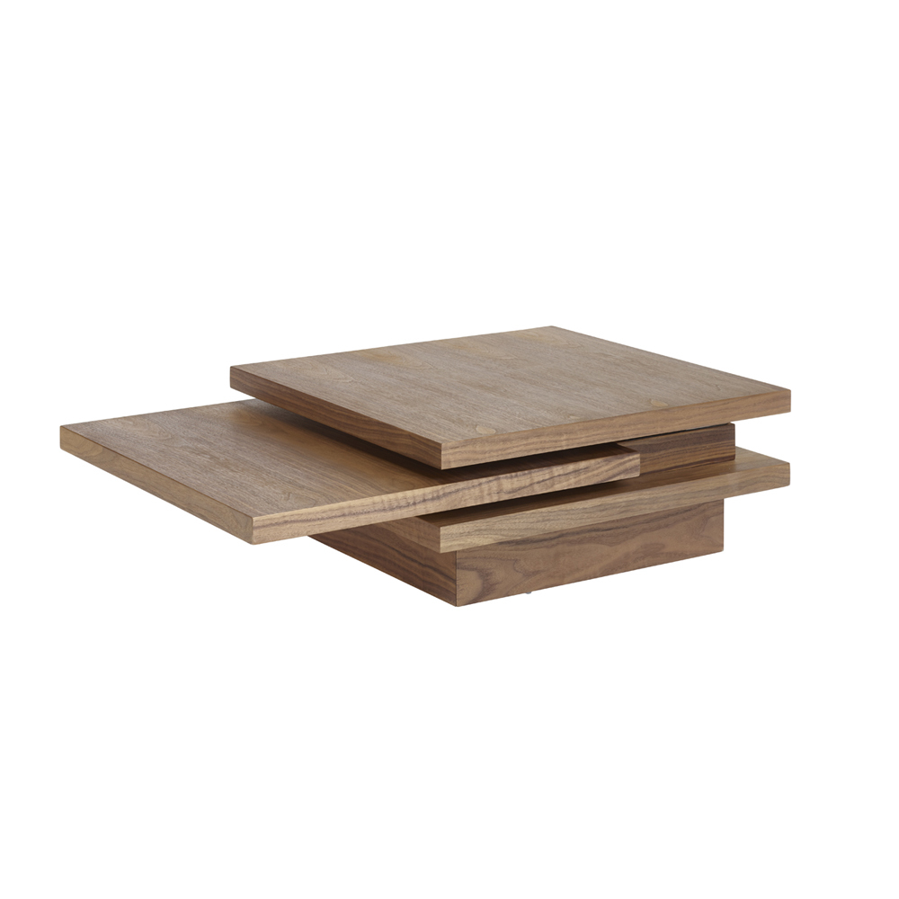 Rotate square coffee table walnut dwell rotate square coffee table walnut loading zoom geotapseo Image collections