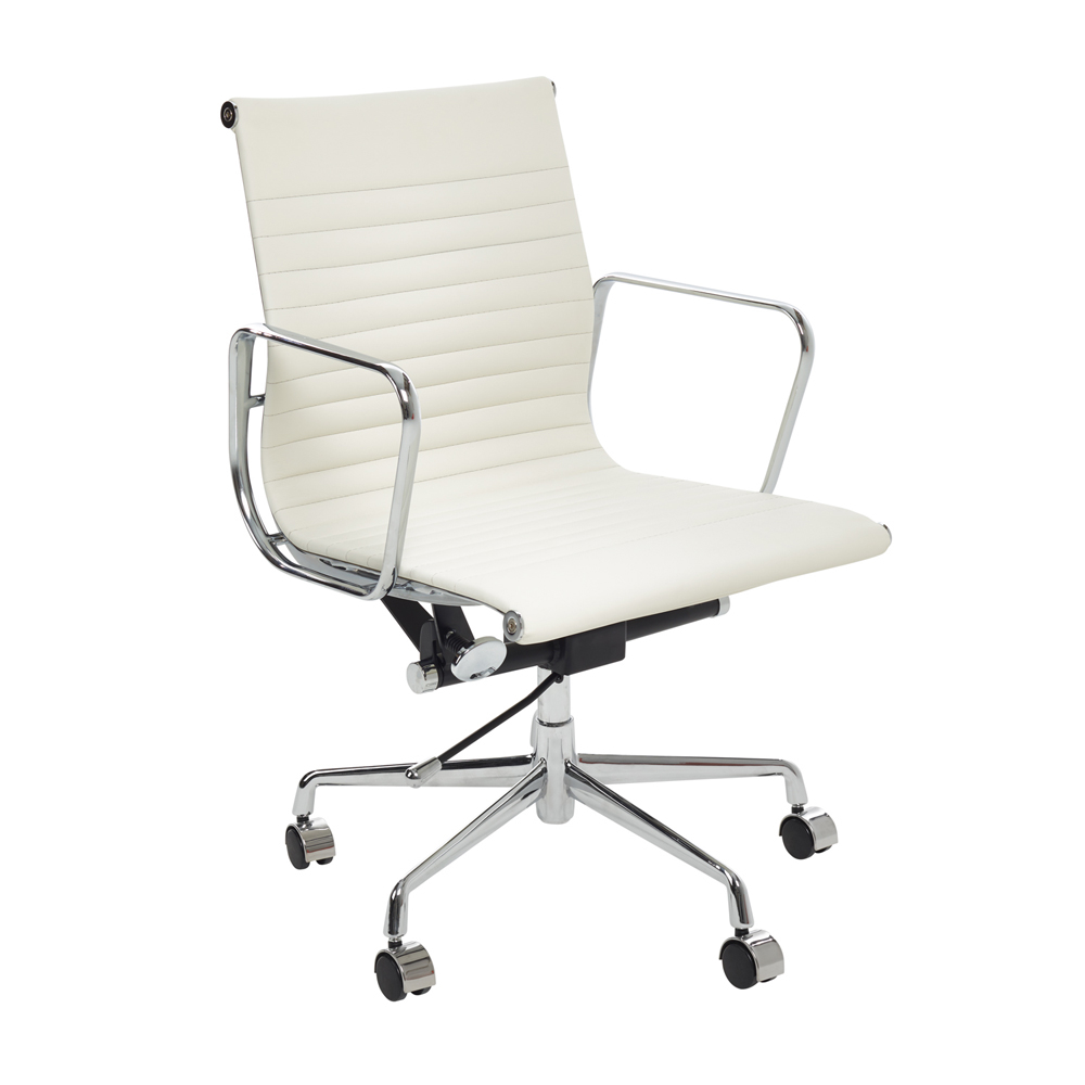 Nexus Home Office Chair Off White. Loading Zoom