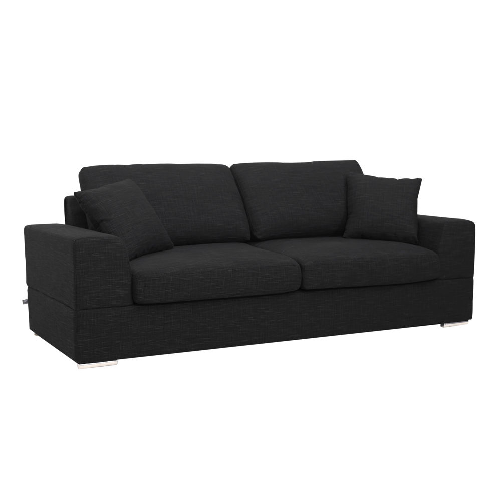 Genial Verona Three Seater Sofa Bed Charcoal. Loading Zoom