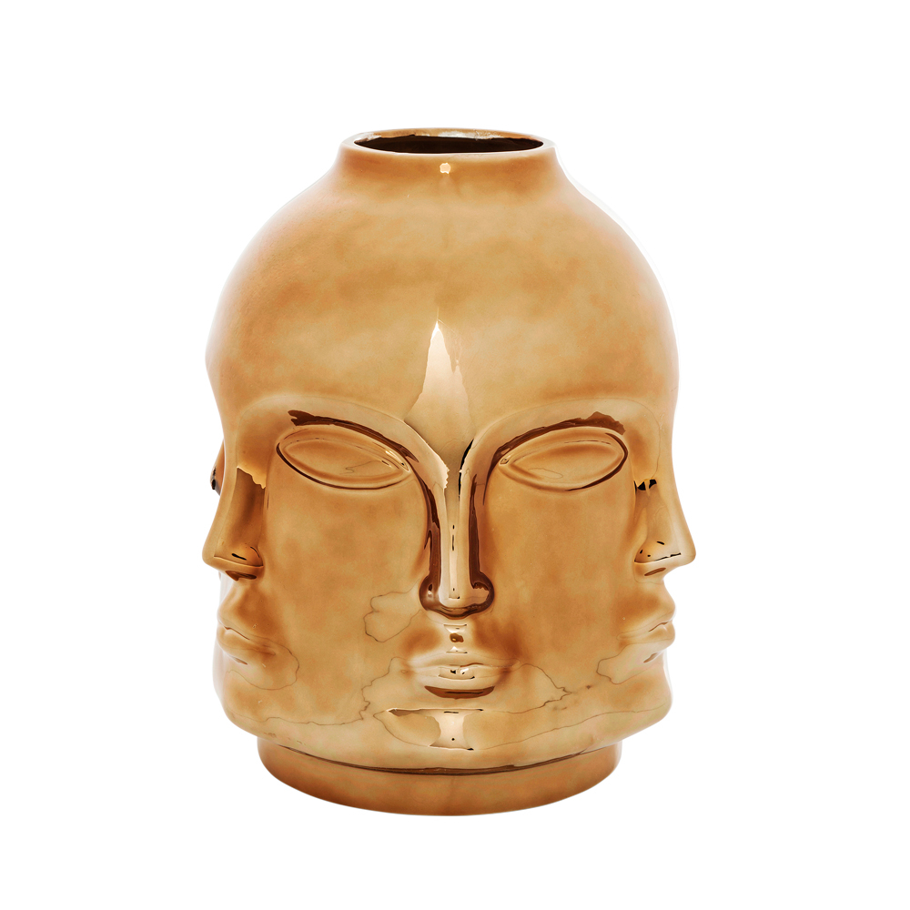 Vases and bowls contemporary home accessories from dwell faces vase rose gold reviewsmspy