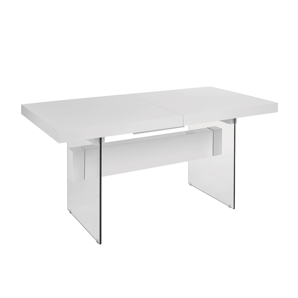 Extending Coffee Table Treble Extending Dining Table White Dwell