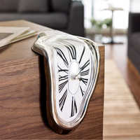 Melting table clock