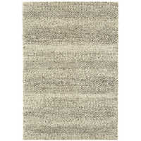 Strata rug large grey marl stripe