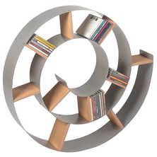 Spiral wall shelf