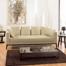 Limoges three seater sofa oatmeal