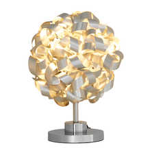 Swirling table lamp