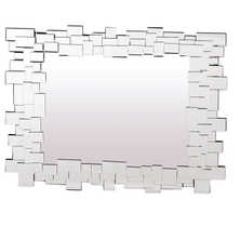 Mosaic mirror rectangular