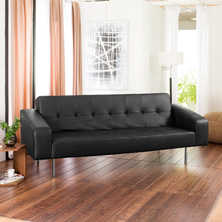 Athens sofa bed black