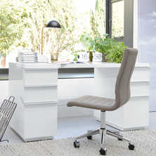 Madison office desk white