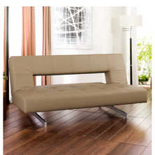 Pisa sofa bed caramel