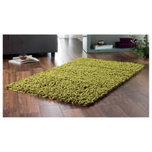 Chenille twist rug large moss